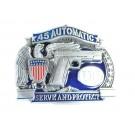 Automatic Gun Belt Buckle
