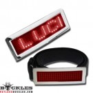 Red LED Belt Buckle