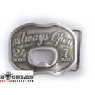 Always Open Bottle Opener Belt Buckle