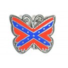 Butterfly Confederate Belt Buckle