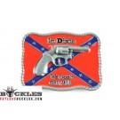 Dixie Confederate Belt Buckle