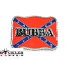 Bubba Rebel Confederate Belt Buckle