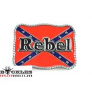Confederate Rebel Belt Buckle