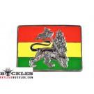 Rastafarian Flag Belt Buckle