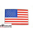 USA Amrican Flag Belt Buckle