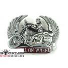 Hell On Wheel Motorcycle Biker Belt Buckle