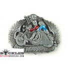 Ride with the wind Motorcycle Biker Belt Buckle