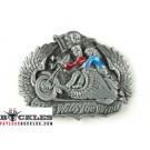 Ride with the wind Motorcycle Biker Belt Buckle