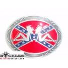 Rebel Mud Flap Trucker  Girls belt Buckle