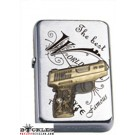 Revolver Military Gun Pistol Cigarette Lighter
