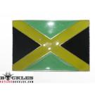 Jamaican Jamaica Flag Belt Buckle