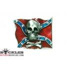 Confederate Rebel Flag belt Buckle
