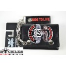 Biker Motorcycle Chain Wallet