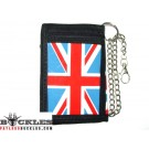 UK British Chain Wallet