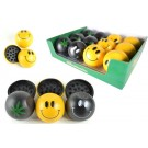 Package Deal - 12units Smiley Herb Grinders 2part - PKG-G007